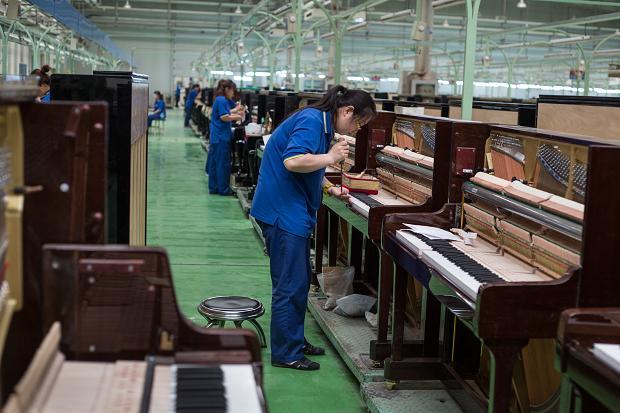 piano sản xuất ở trung quốc