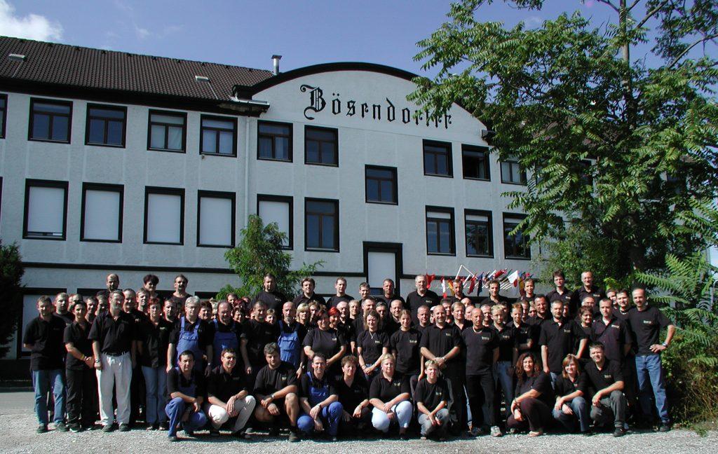 Bosendorfer factory