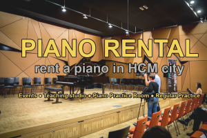rent piano in HCM