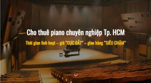 thuê đàn piano
