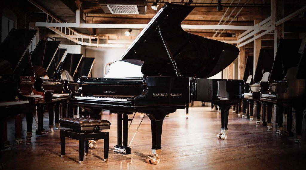 Mason & Hamlin -Thương hiệu piano tốt nhất thế giới đã có mặt tại Việt Nam