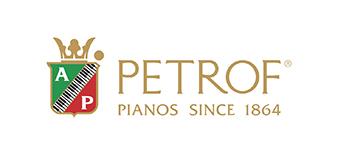 petrof piano logo