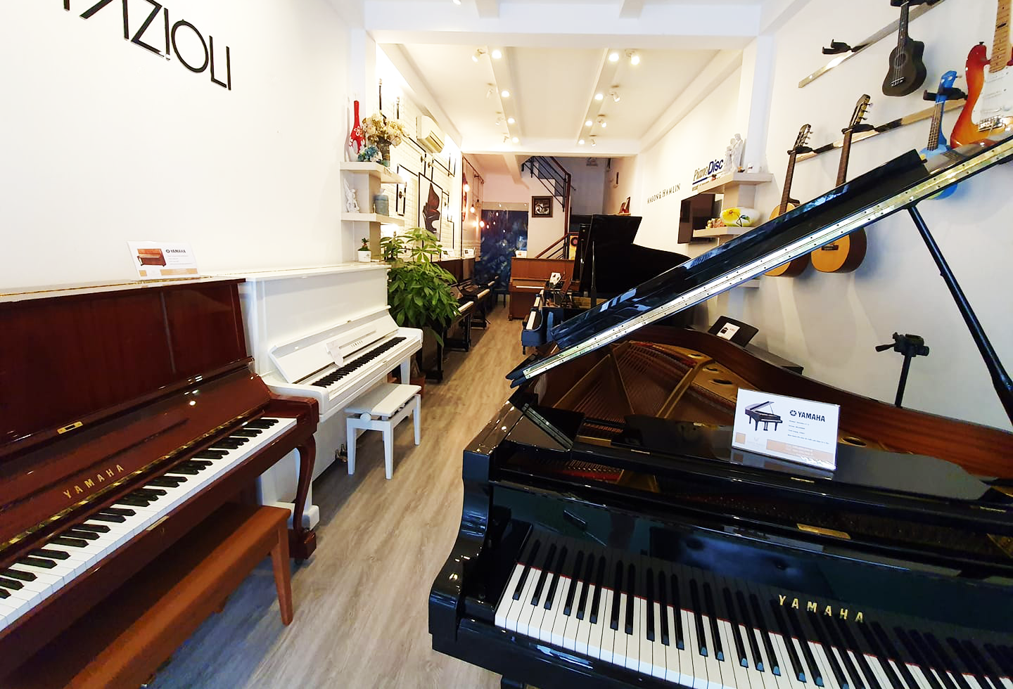 Showroom piano forte