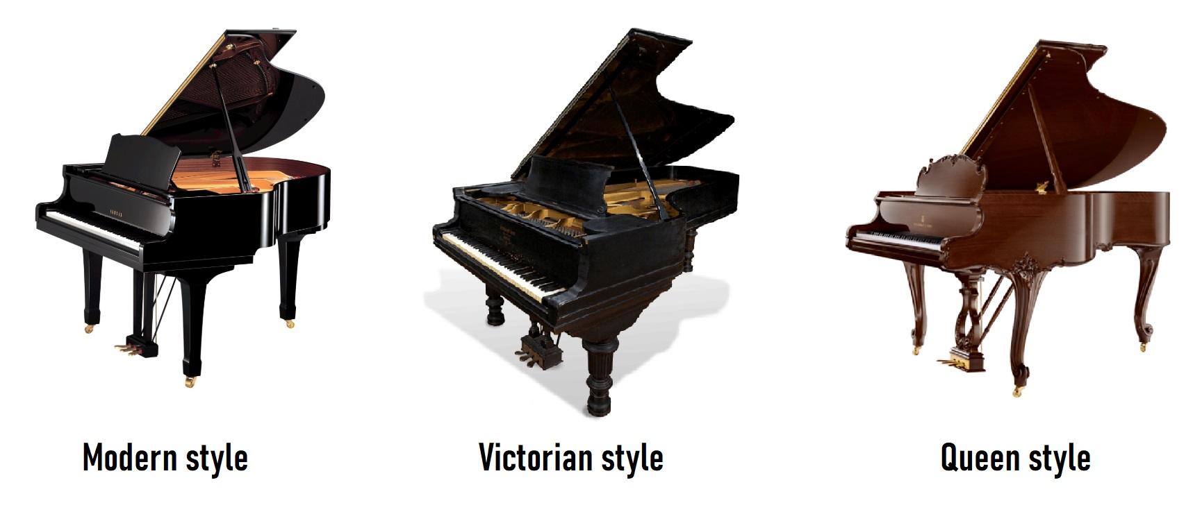 Grand piano style