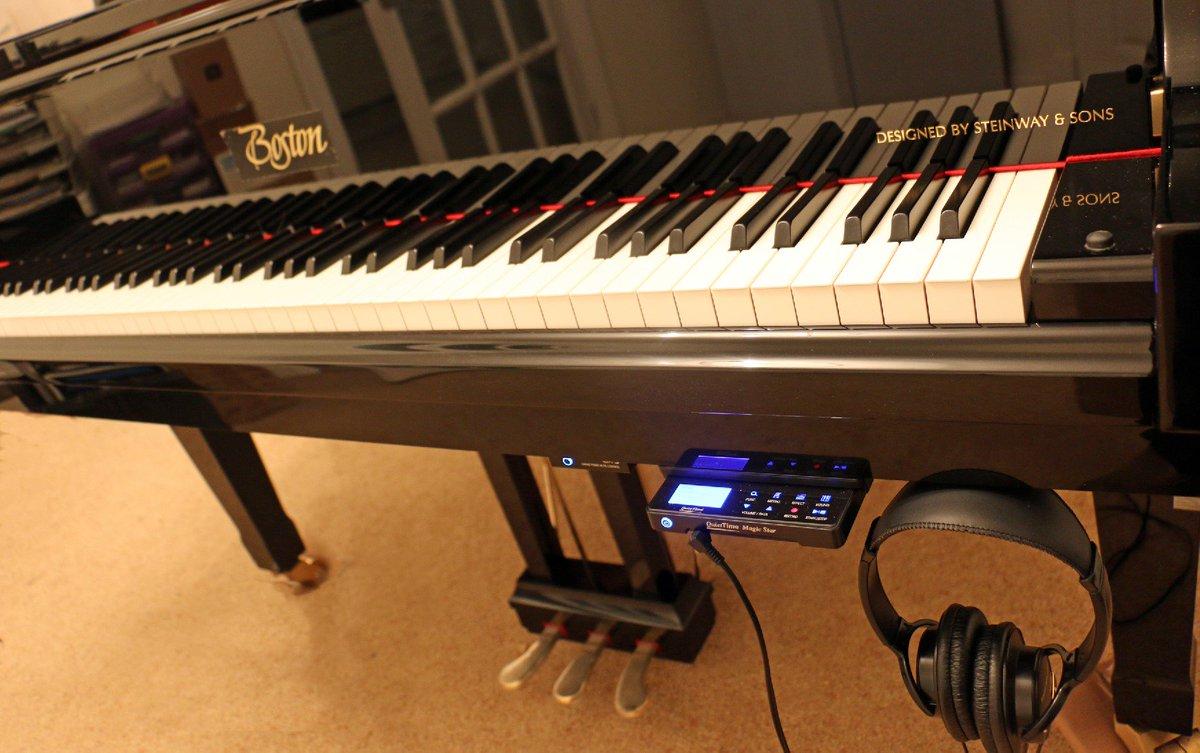 Piano record và silent