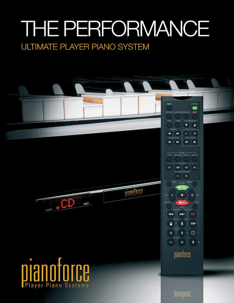 Pianoforce autoplay system