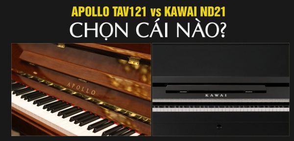 TAV121 và Kawai ND21