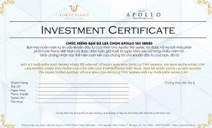 Apollo TAV Investment Certificate