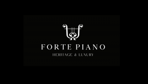 Logo Forte Piano Black Luxury